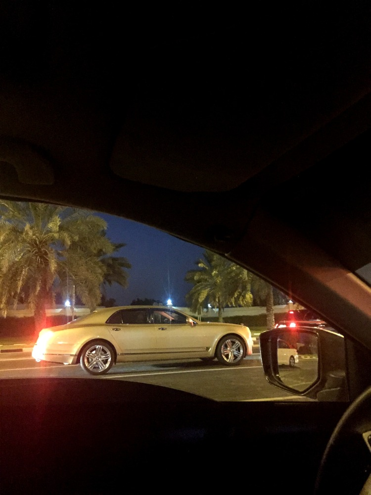 GOLD BENTLEY- They say if you see anything in Gold shade in Dubai then its Real Gold.