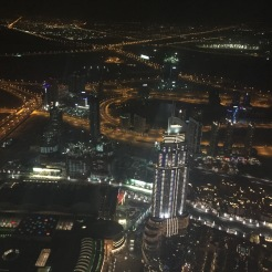 View from the top of Worlds Tallest Skyscraper- Burj Khalifa